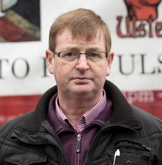Loyalist campaigner Willie Frazer