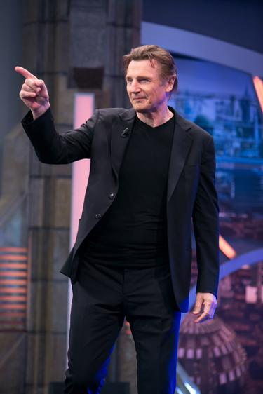 Liam Neeson: I was joking about famous girlfriend