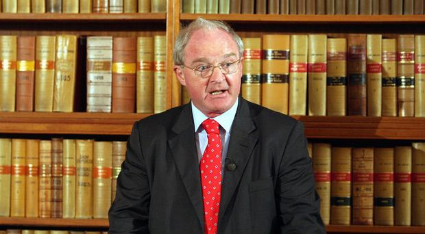 Lord Chief Justice Sir Declan Morgan suggested the mediation route just before the Bar Council and Law Society were about to mount another court challenge