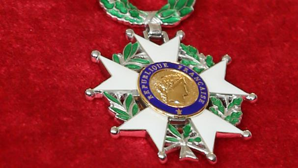 The Legion d'Honneur is France's highest honour