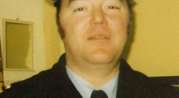 Austin's father Brian Stack, killed by IRA