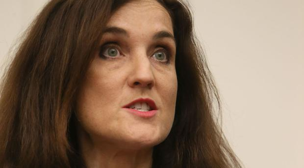 Northern Ireland Secretary Theresa Villiers is on a two day trip to the US