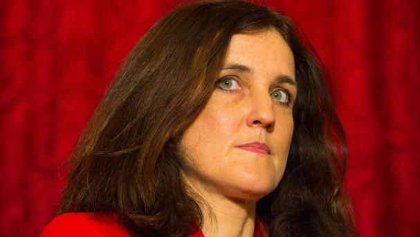 Theresa Villiers told the Commons she will take