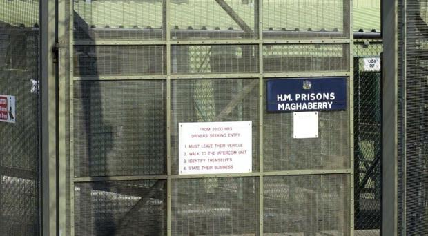 A foreign prisoner has died in Northern Ireland, officials have confirmed