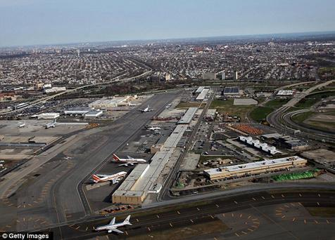 JFK Airport in New York was allegedly the target of hoax calls