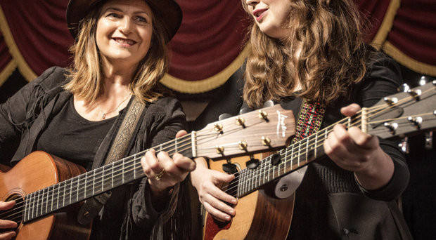 Brigid O'Neill and Ciara O'Neill will perform at the 12th United Airlines Belfast Nashville Festival
