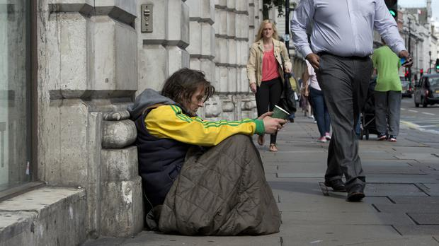 Charities have called for action to address the growing problem of homelessness