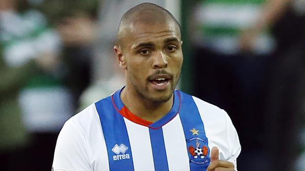 Police are examining allegations Kilmarnock player Josh Magennis was racially abused in Saturday's game against Hearts
