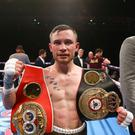 Carl Frampton after his win over Scott Quigg