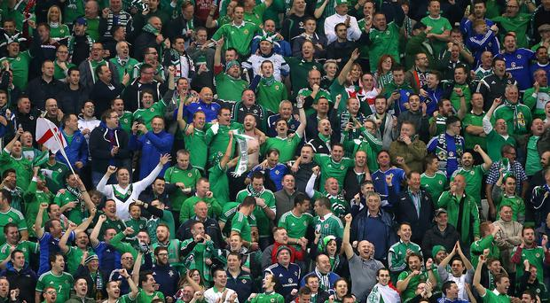 The die-hard Northern Ireland football fans are among the most loyal in the sport