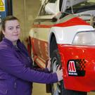 Gillian Magee, the new chief scrutineer of the Circuit of Ireland Rally