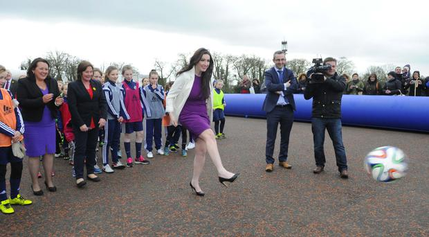 Emma Pengelly at Stormont