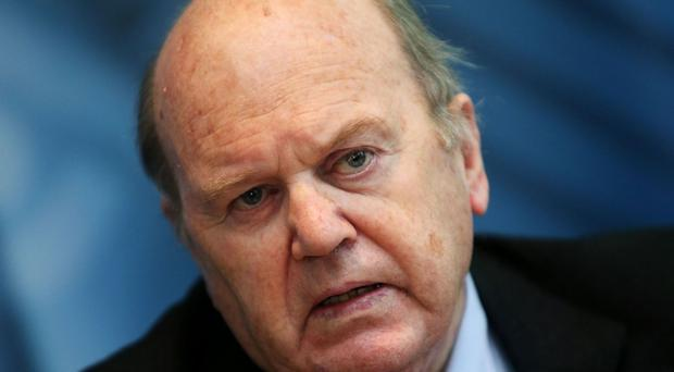 Minister for Finance Michael Noonan was criticised by the Stormont committee