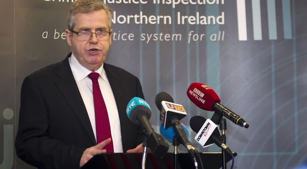 Brendan McGuigan criticised the use of police custody for children and young people