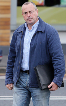 Loyalist Mark Harbinson at an earlier court appearance