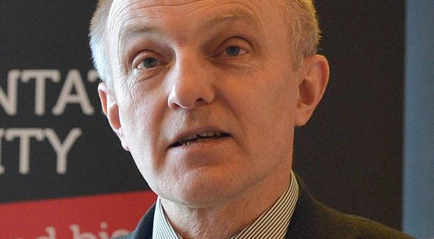 Dr Michael Wardlow is chief commissioner of the Equality Commission for Northern Ireland