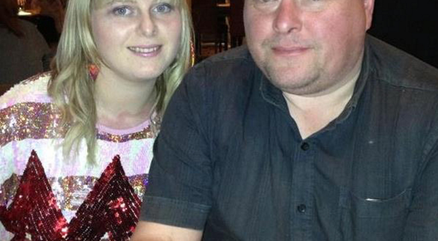 Neil Tattersall and daughter Sophie