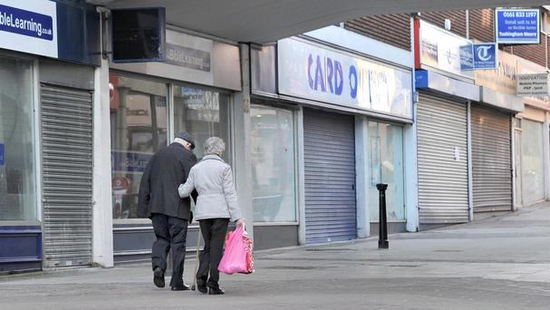 One in six shops in Northern Ireland remains vacant