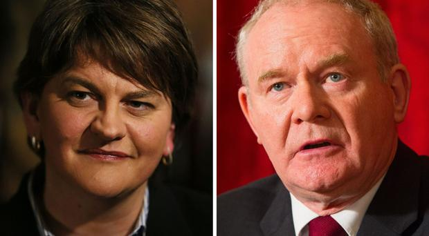 First Minister Arlene Foster and deputy First Minister Martin McGuinness have expressed their condolences to the family of motorcyclist Malachi Mitchell-Thomas.