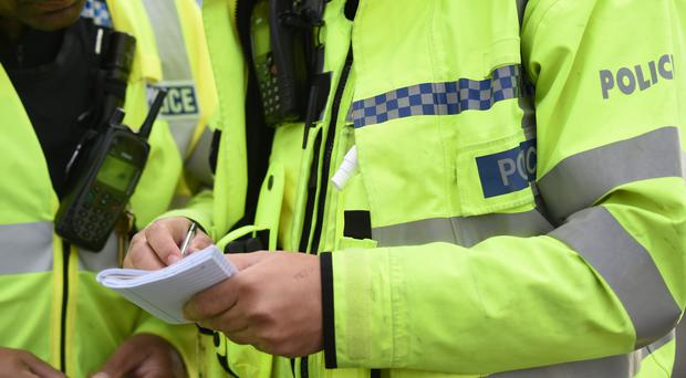 Two men were arrested and are being questioned at Lurgan police station.