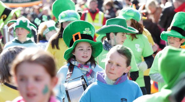 A recent St Patrick's Day celebration in Armagh