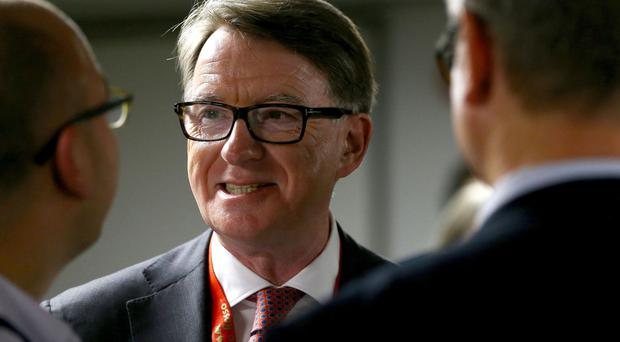Lord Mandelson was speaking to Irish business leaders