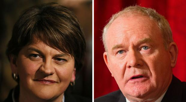 First Minister Arlene Foster and deputy First Minister Martin McGuinness have expressed their condolences to the family of motorcyclist Malachi Mitchell-Thomas following his fatal crash at the North West 200.