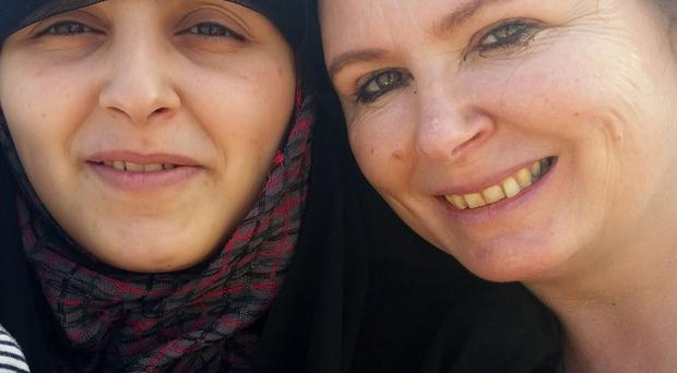 Dorothy and her daughter Shaymaa