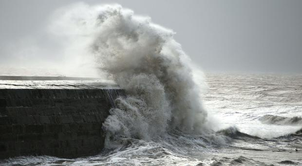 Winter wave heights in 2013/14 were up to 40 percent higher than normal, research has revealed