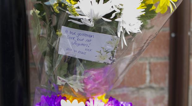 Other tributes were also left