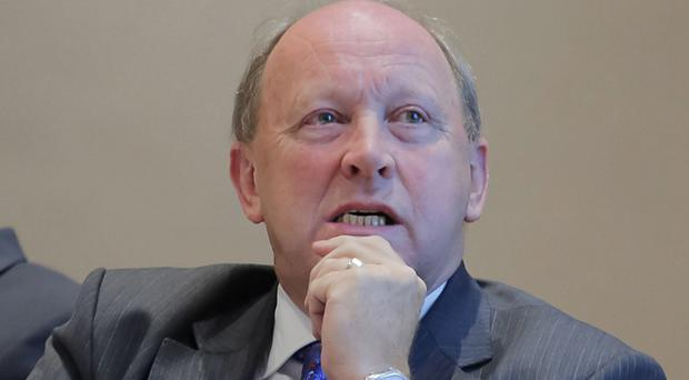 TUV leader Jim Allister asked the department about attacks inside prisons