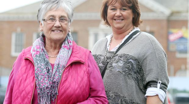 Jean Wallace and Penny Spence