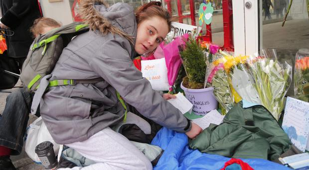 Homeless teenager Maria Brady was cared for by Catherine Kenny