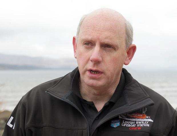 At the scene was Joe Joyce, a member of the Lough Swilly RNLI crew who attended the callout