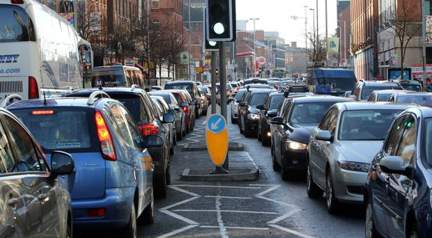 Drivers spent the equivalent of more than five extra days in their vehicles last year than they would have if there were no queues