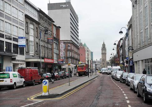 Belfast's city centre manager has called for an urgent change in the law so that police and council officers can confiscate alcohol from street drinkers