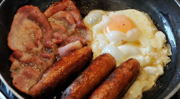 A traditional Ulster fry is cheaper than it has been for seven years, says the Ulster Bank's Fry Index