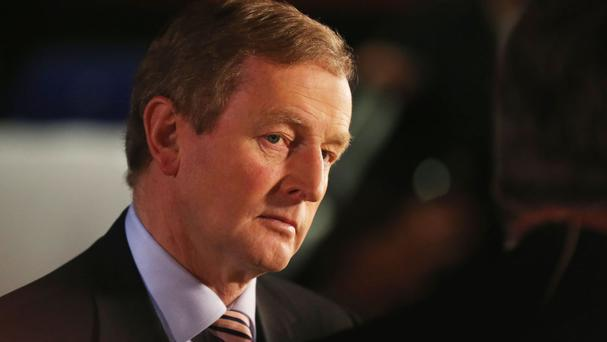 Fine Gael leader and caretaker Taoiseach Enda Kenny formally called on Wednesday evening for a