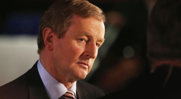 Fine Gael leader and caretaker Taoiseach Enda Kenny