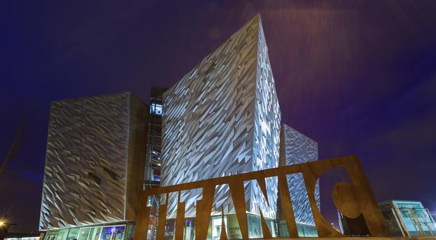 The Titanic Museum is on the site of the former Harland & Wolff shipyard in Belfast's Titanic Quarter
