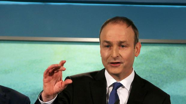 Micheal Martin only got the backing of his own party's TDs