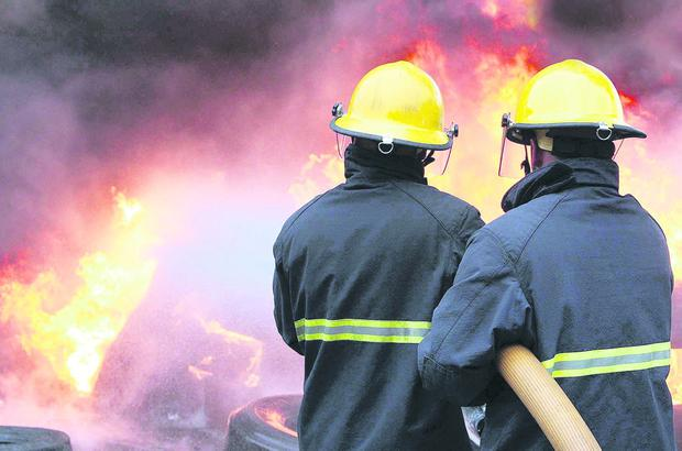 Jobs such as firefighter appear on the list because of the danger, stress and low pay involved. Picture by Matt Mackey / PressEye