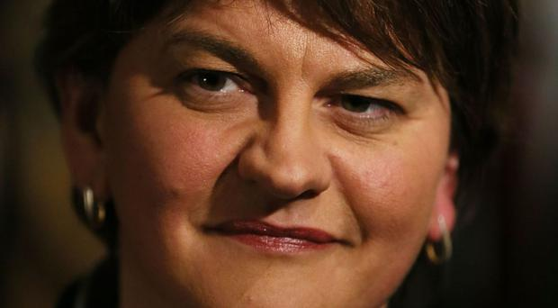 Arlene Foster said Micheal Martin's comments were offensive and unjustified