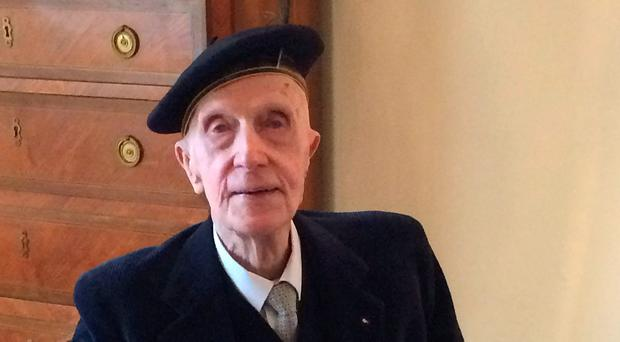 Sir John at the French embassy in Dublin, where he was awarded the Legion d'Honneur last year