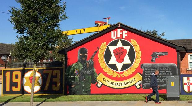 Showing zero-tolerance of wall murals and flags which support armed groups were among proposals in the Alliance Party manifesto