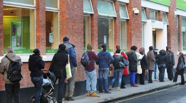 Unemployment numbers are up in Northern Ireland