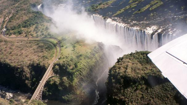 Nell English is running charity marathons between Harare and Victoria Falls