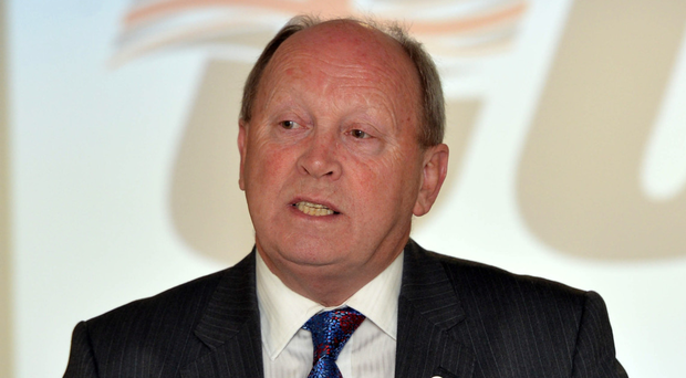 Anger: Jim Allister