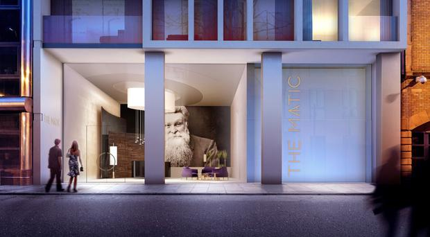 A luxury multi-million pound apartment complex in Belfast - boasting a 22m pool, private gym, 24-hour concierge service and four penthouse pads - will come on the market next month