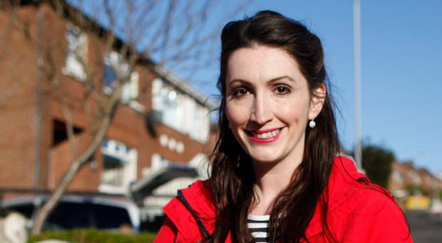 DUP's Emma Little Pengelly canvassing in South Belfast